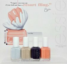 ESSIE Nail Lacquer - RESORT FLING Collection 2014- All 4 Shades 857 - 860