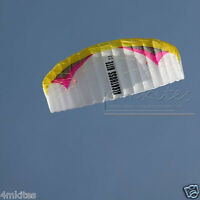 Pro power trainer kite + control bar+flying lines/yellow