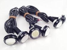 6 x White LED Eagle Eye Bulbs Backup LED Daytime Light license plate light 3W