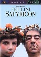 Fellini Satyricon (DVD, 2001) WS NEW