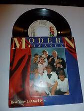 "Modern Romance-Best Years Of Our Lives-Rare 1982 7"" JUKE BOX VINYL SINGLE"