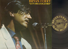 BRYAN FERRY Let's Stick Together LP 1976 Roxy Music BRIAN FERRY
