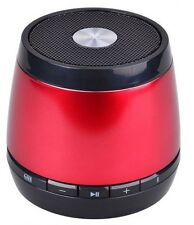 HMDX Jam Jar Classic Bluetooth Wireless Portable Speaker Rechargeable Red