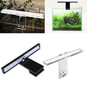 LED Natural Lights Fish Tank Lamp USB Charging Aquarium Supply Reptile Case Thin