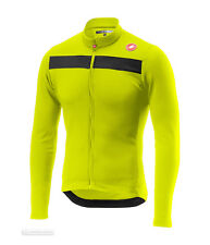 Men s Castelli Puro 3 Thermal Long Sleeve Jersey XL High Visibility Hi Vis b8dd24f58