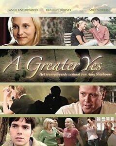 A Greater Yes DVD - CHRISTIAN FAITH Jesus MOVIE, Cancer Themes - RARE