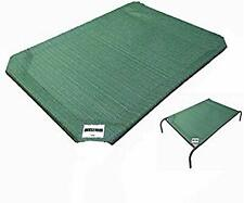 Elevated Dog Bed Pet Replacement Cover Large Pet Lounger Sleeper Raised Cot Gree