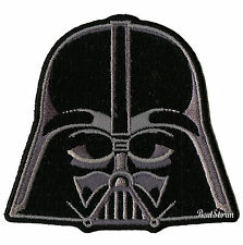 """NEW Star Wars Darth Vader Helmet Embroidered  IRON ON Patch Badge 3"""" x 2 3/4"""""""