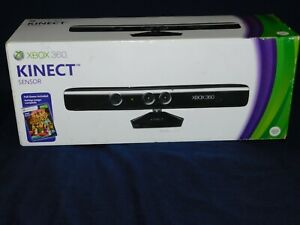 Microsoft Xbox 360 Kinect Sensor IN Original Box w/Accessories
