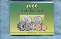 1966  Mint Coin Set Uncirculated UNC Sherwood Australia