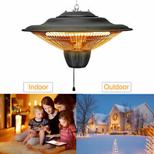 Hanging Patio Heater 1500W Indoor/Outdoor Home Balcony Ceiling Mounted Heaters
