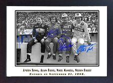 Ayrton Senna Prost Mansell Piquet signed autographed Memorabilia F1 FRAMED #2