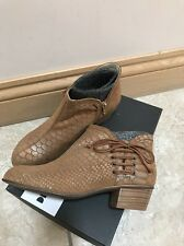 Dkode Nahla Boots In Cognac Size 4/37