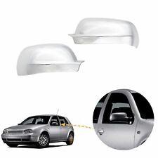 For VW GOLF MK4 & Bora Passat B5 wing mirror cover chrome