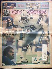 """ NFL Dallas Cowboys Official Weekly Magazine November, 24, 1984; Vol. 10, No.24"