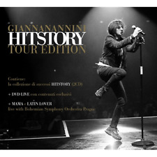 GIANNA NANNINI - History (Tour Edition 2 Cd+Dvd)