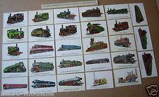 70s/80s Postcard Collection x 28 Railway Locomotives Prescott-Pickup Bridgnorth