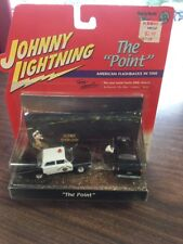 """Johnny Lightning Diorama The """"Point"""" '63 Police 1:64 Die-Cast '55 Chevy Msc11"""