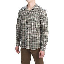 Gramicci - Men's XXL - NWT - Green & Multi Plaid Madras Cotton Button-Down Shirt