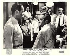 12 Angry Men original 8x10 UK lobby card Henry Fonda Lee J Cobb face off