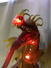 VERY RARE! HOW TO TRAIN YOUR DRAGON SPINMASTER FIREWORM QUEEN ACTION FIGURE TOY