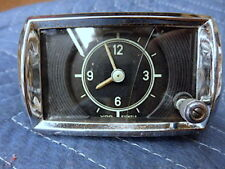 MERCEDES Ponton 127 180  Genuine VDO Dash Panel Clock  Rebuilt Mechanism Nice