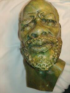 John N Chihowa Semi Precious Verdite Sculpture. Has some wear
