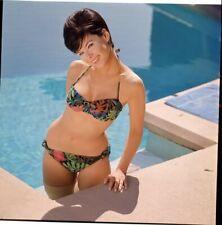 Yvonne Craig Sexy Bikini Glamour Pin Up 1960's Original 2.25 x 2.25 Transparency