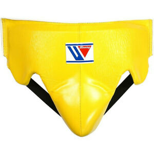 Authentic Winning Boxing Groin Cup protector Yellow L size CPS500 from JAPAN -A
