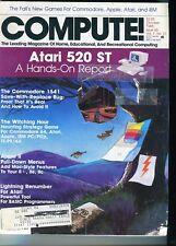 Compute! Magazine back issue October 1985 Commodore 64 Apple PC Atari IBM Amiga