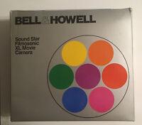 Bell & Howell Model 1225 Super 8 Sound Film Movie Camera