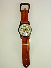 "Decorative Oversized Wooden Wristwatch Wall Shelf Clock Timepiece ~ 15"" L x 3"" W"