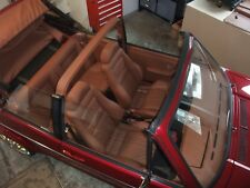 VW Golf 1 Cabrio Lederausstattung , alle Farben , EX KARMANN 100% , vieles mehr