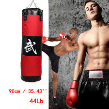 New Durable Exquisite Muay Thai Mma Boxing Heavy Punching Bag 44Lb (Empty)