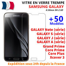 Vitre Film Protection Verre Trempé Samsung Galaxy S5/S6/A3/A5/J3/J5/Grand Prime