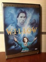 WILLOW. Val Kilmer / NTSC / Region1 / NOT AN IMPORT/ Rare / OOP w/Insert!