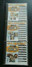 SUPER TOP 50. Various Artists. Vol 1. 2. 3. 3 CD's. Excellent Condition