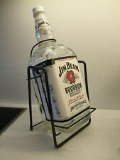 Huge 4.5 Litre Jim Beam Bottle With Cradle