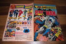 BATMAN Sonderheft  # 22  --  Ehapa 1. Auflage 1981