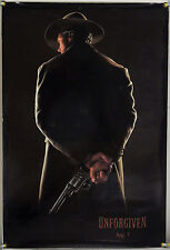 UNFORGIVEN DS ROLLED TSR ORIG 1SH MOVIE POSTER CLINT EASTWOOD WESTERN (1992)