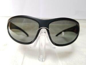 Wiley X Romer II Gray Polarized Sporty Goggle Wrap Frame Sunglasses (NEW)