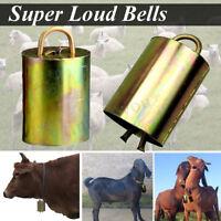 3.5x6cm Kupfer Glocke Kuh Pferd Schaf Grasend Rinder Nutztiere Lauten