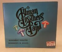 Instant Live 2 CD Set [Disc 1 & 2 Only] by The Allman Brothers Band (2005, Peach