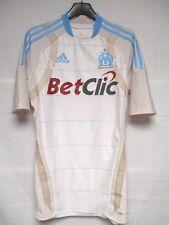 Maillot OLYMPIQUE de MARSEILLE OM 2011 stock pro ADIDAS TECHFIT shirt maglia M
