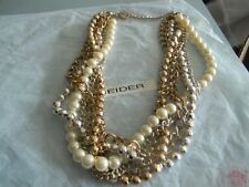 Premier Designs WOW FACTOR pearl bead necklace gorgeous RV $59 FREE ship nwt
