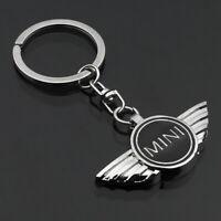 Fashion 3D Car Keychain Metal Key Chain Pendant Holder Key Ring for Mini Cooper