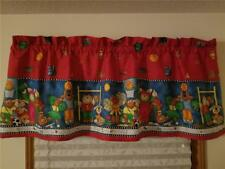 PRE SCHOOL, SCHOOL, KIDS, SPORTS, EDUCATION CURTAIN VALANCE, RARE LIMITED PRINT