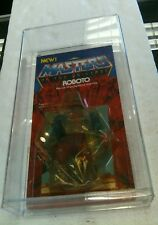 Vintage 1984 Masters of the Universe Roboto new in case