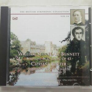 Sterndale Bennett / Potter: Symphonies / Bostock / Classico CD CLASSCD 634