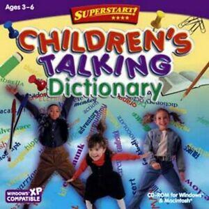 Age 3-6 Preschool Children's Talking Dictionary PC Windows XP Vista 7 8 10 Seale